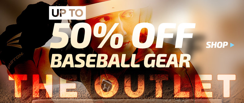 Shop Baseball Outlet - up to 50% Off