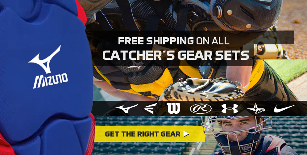 FREE SHIPPING on all Catcher's Gear Sets