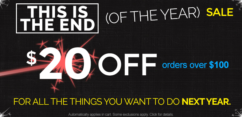 Save $20 On Orders Over $100