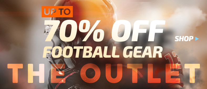 Shop Football Outlet - Up to 70% Off