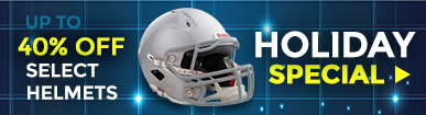 up to 40% off select helmets - holiday special