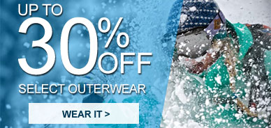 Select Outerwear 30% Off