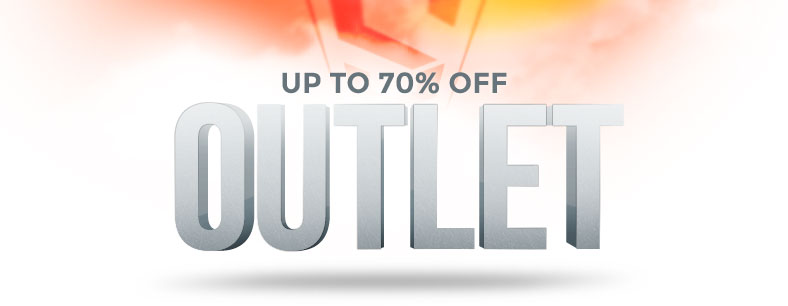 Outlet - up to 70% Off