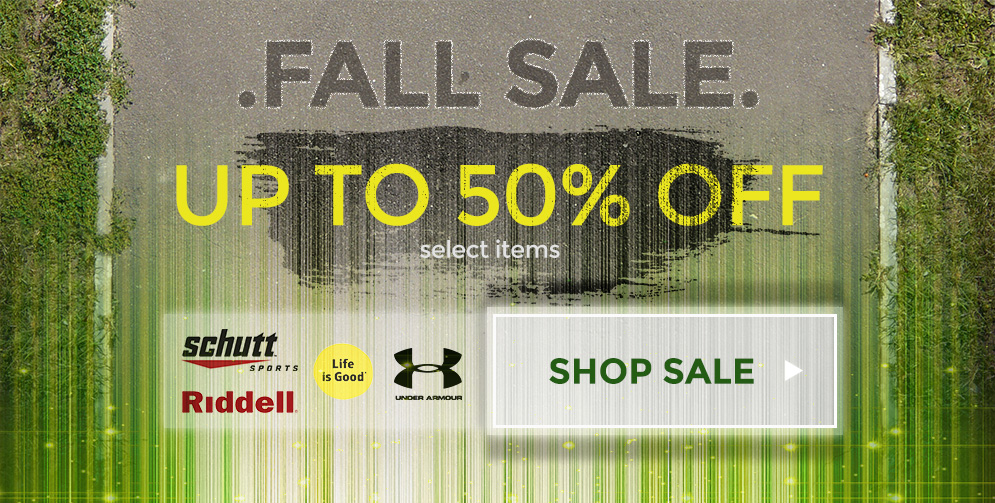 Fall Sale - Up to 50% Off