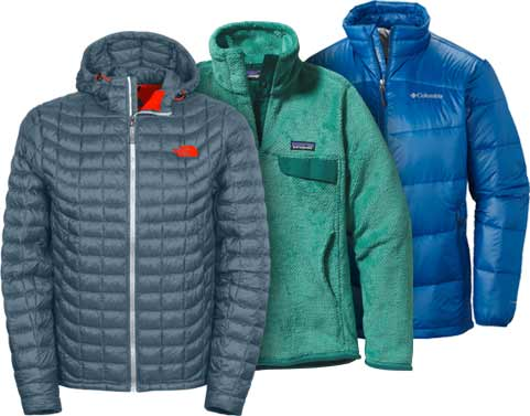 Outerwear Shop - The North Face, Columbia, Patagonia, and more.