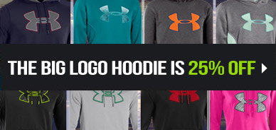 UA Big Logo Hoodies 25% Off