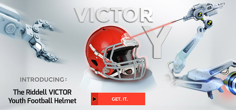 Riddell Victory - New Youth Football Helmet