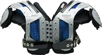 Schutt AiR Maxx Flex Adult Football Shoulder Pads - Lineman