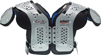 Schutt XV Flex Adult Football Shoulder Pads - Lineman
