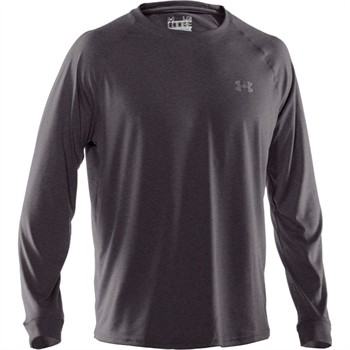 Under Armour Custom Mens HeatGear New Tech Longsleeve Tee Shirt - FREE Embroidery